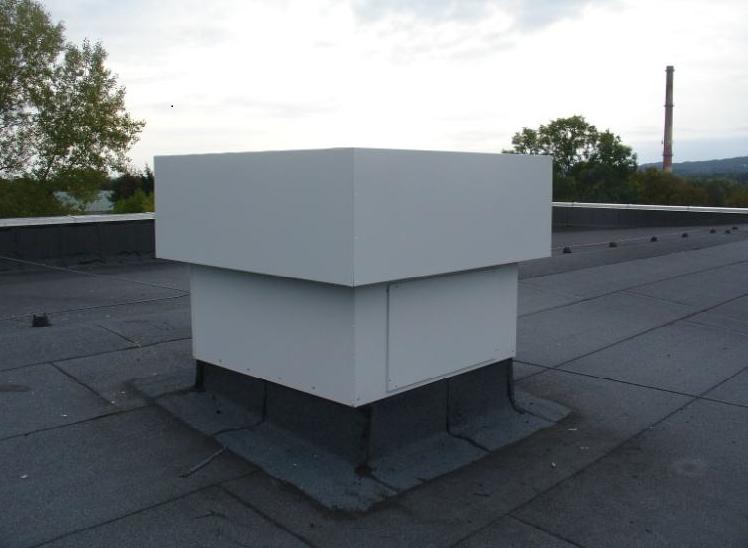 Tłumik  akustyczny wentylatora dachowego FEN-500